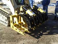 Grapple on Track Loader