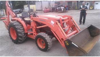 2008 L3940HST-1 W/LA724 LOADER, BH92 BACKHOE