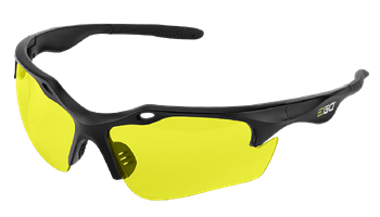 Saftey Glasses with Yellow Lenses