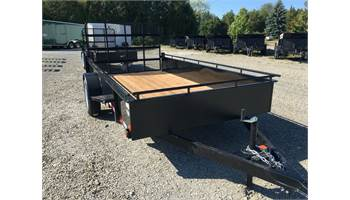 2019 6X10 STEEL SIDE UTILITY TRAILER