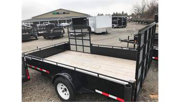 2019 7x12 UTILITY TRAILER SIDE AND REAR RAMP
