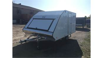 2020 101 X 12 CrossOver Snowmobile Trailer With Ramp Door