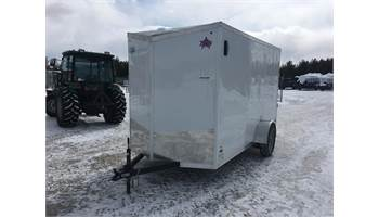 2020 6X12 Cargo Trailer With Ramp Door ULAFTX612SA