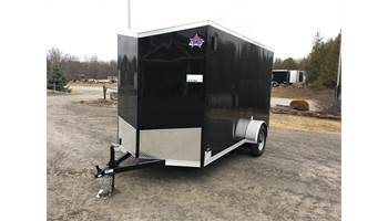 2020 6X12 Enclosed Cargo Trailer With Ramp Door ULAFTX612SA