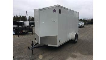 2020 6X12 Enclosed Cargo Trailer With Barn Door's ULAFTX612SA