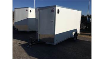2020 6X12 ENCLOSED CARGO TRAILER WITH BARN DOORS