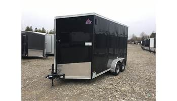2020 7X14 Enclosed Cargo Trailer With Ramp Door ULAFTX714TA2