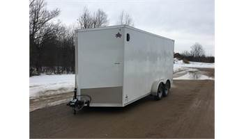 2020 7X16 Cargo trailer With Ramp Door ULAFTX716TA2