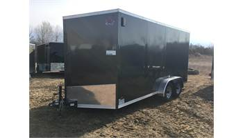 2020 7X16 Enclosed Cargo Trailer With Ramp Door ULAFTX716TA2