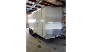 2018 7X12 Cargo Trailer With Barn Door
