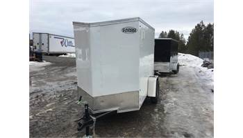 2020 5X8 Cargo Trailer With Ramp Door EX5X8SI2DLX