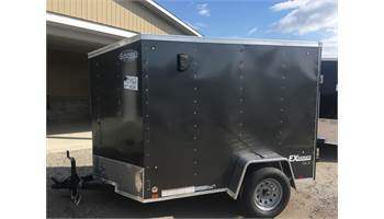 2020 5X8 Enclosed Cargo Trailer With Ramp Door EX5X8SI2DLX