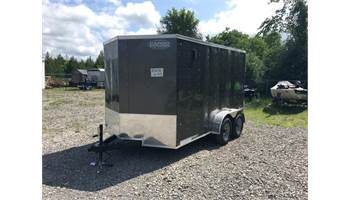 2020 7x12 Enclosed Cargo Trailer With Ramp Door XLW7X12TE2