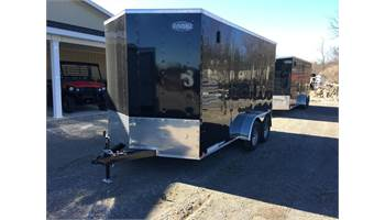 2020 7X14 Enclosed Cargo Trailer With Barn Doors XLW7X14TE2