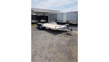 2019 7X18 Fully Aluminum Flay Deck Trailer MFT1880-5