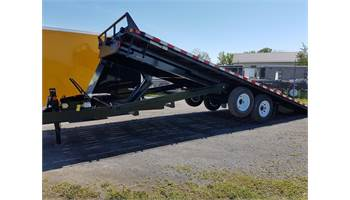 2019 8.5x22 Hydraulic Power-Tilt Deck Over Flat Bed Trailer ETL822-14K