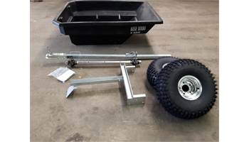 2019 Bush Burro Off Road ATV Trailer - UNASSEMBLED