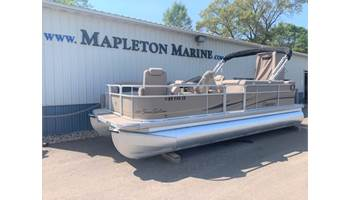 2010 Sunsation 220 Pontoon Boat w/Mercury 60hp ELPT