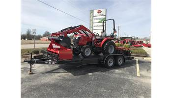 2019 MASSEY FERGUSON 1734H PACKAGE DEAL