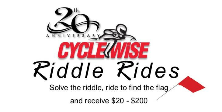 Cyclewise Riddle Rides banner