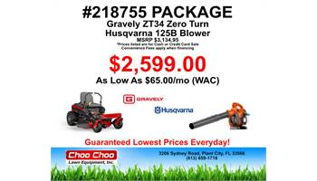 2019 #218755 Mower Package