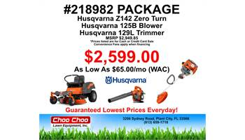 2019 #218982 Mower Package