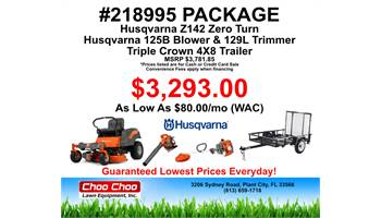 2019 #218995 Mower Package