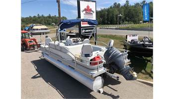 2003 Four Point Deluxe Fishing Pontoon