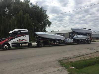 New Boat Delivery