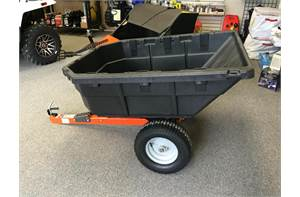 12.5 CU FT POLY SWIVEL DUMP CART