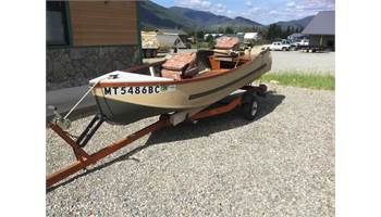 1963 11 FOOT FISHING BOAT