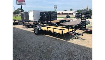 "2020 76"" x 14' utility trailer with ramp gate"