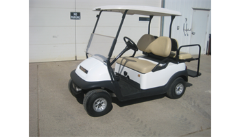2014 White Electric Club Car Precedent 4-passenger