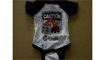 Caution Messes May Occur Infant Onesie