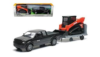 SSV65 Skid Steer with Ford Pickup Truck & Trailer
