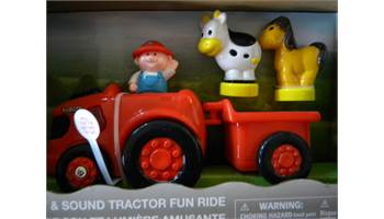 Light & Sound Tractor Fun Ride