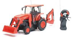 Remote control L6060 with loader  backhoe 1
