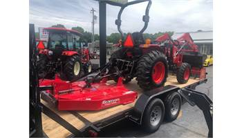2019 3015R PACKAGE WITH LOADER, CUTTER, SCRAPER & TRAILER!