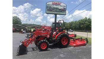 2019 55 HP 4X4 LOADED WITH EXTRAS & A 7' BRUSH HOG!