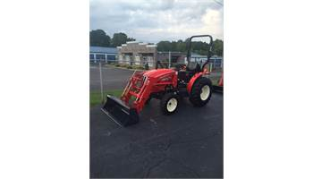 2019 30 HP 4X4 TRACTOR with LOADER & BRUSH HOG