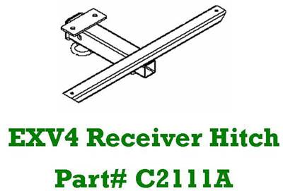 C2111A exv4 trailer hitch