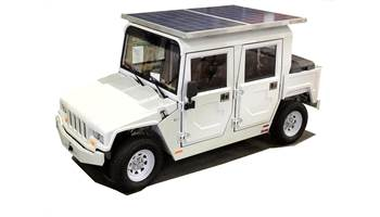 EXV4 Equipped w/ Solar Panels