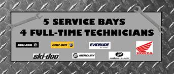 Service Department Sign