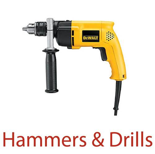Hammers and Drills