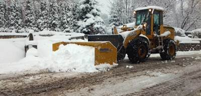 Snow Plowing Small