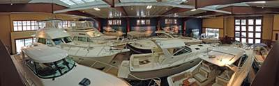 Walstrom Marine Boat Storage Showroom