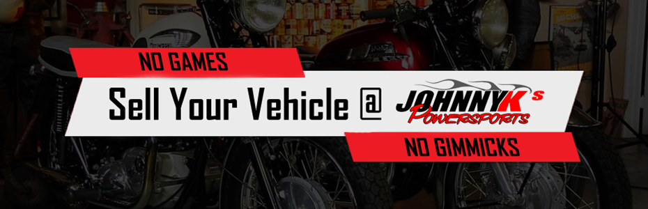 Sell Your Vehicle at Johnny Ks
