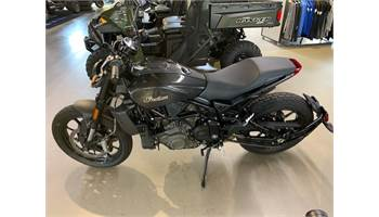 2019 FTR 1200, THUNDER BLACK, 49ST