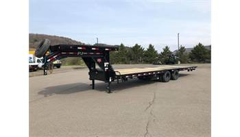 2020 Low Pro 32' Gooseneck W/ Hydraulic Dovetail (LY)