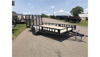 2019 14' Utility W/ ATV Side Ramps U8141